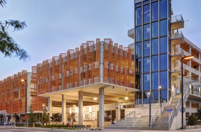 UCSD Athena Parking Structure