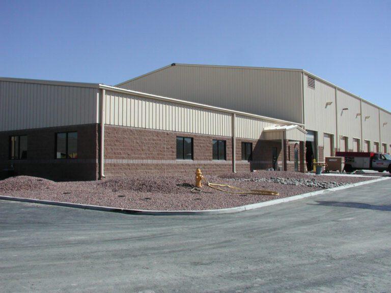 Vehicle Maintenance Complex at Nellis AFB