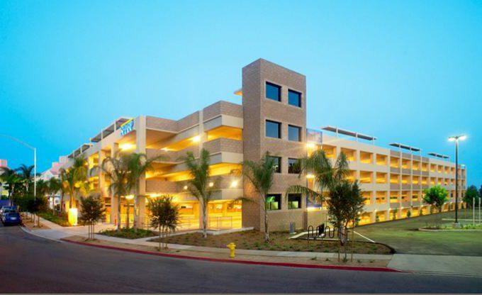 Sharp Memorial Hospital Parking Garage